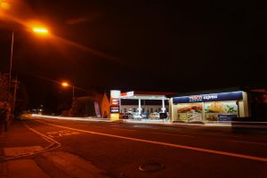 Petrol station - Right side by frankcom