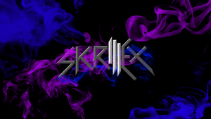 Skrillex Logo/Wallpaper by daniel10alien