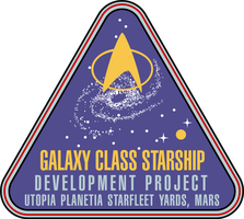 Galaxy Class Development Project Logo by CmdrKerner