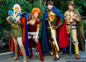 Shiris, Deedo, Parn, and Orson - ROLW Cosplay by Kapalaka