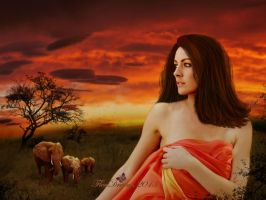 Dreaming Africa by lorenzArts