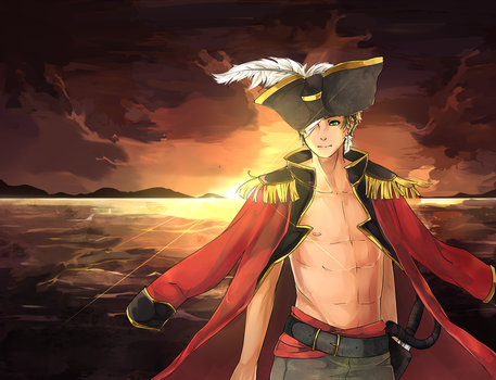 APH: Pirate Spain by Chuuco