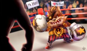 League of legends : Mr.Hom King of the Ring by Philiera