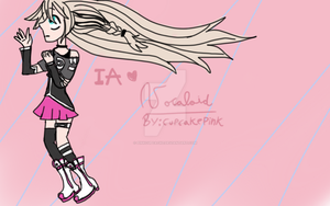 IA  Vocaloid by pinkcupcacke