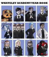 Whateley Yearbook page 3 by Drunkfu