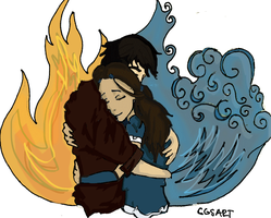 Zutara Hug Elements by Cgsart