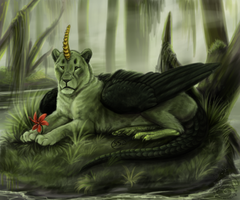 Swamp Flower by animalartist16