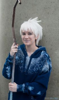 Jack Frost cosplay by AmaraSama