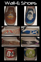 Wall-E Shoes by ALittleOffKilter