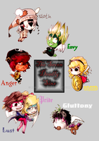The Seven Deadly Sins by Ronja-chan
