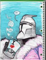 Clone Trooper Getaway by DrawJinDraw-jinhan