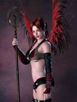 Red Wizardry by morgana147
