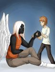 Nimbus and the Angel by Lilnanny