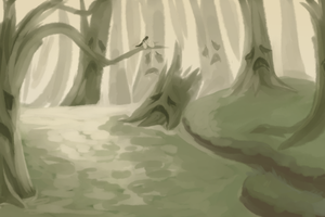 The forest that once was green... by TacoNoobGamer