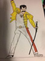 Freddie Mercury by Cart00nman95