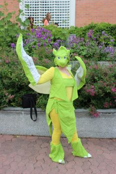 Scyther cosplay by cookietex
