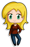 [Commission] Mini Chibi Ronnie by izka197