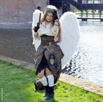 Steampunk Angel by MCVD