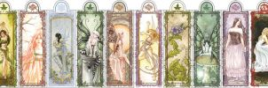Bookmarks by LiquidFaeStudios
