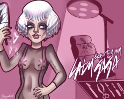 lady gaga born this way monster clinic by sergiovisual