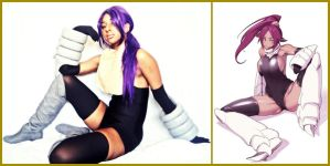 Yoruichi Shihouin In Battle by MakeupSiren