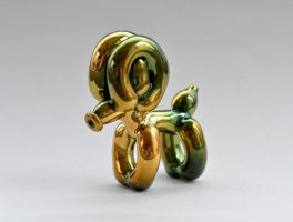 Glass Balloon Ram Pendant by cold-in-the-north