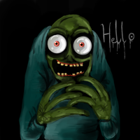 Salad fingers by 0rcinus