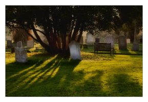 An Evening in the Churchyard by Bogbrush