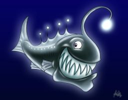 Larry the Lantern Fish by zones-productions