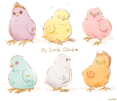 My Little Chick by Ssalbug