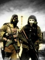 STALKER MW: Alexey and Seeker by GZBunK3r