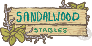 Sandalwood Stabes Sign by Ink-Jam