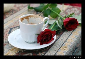 Turkish coffee rose by ozycan