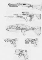 Firearms concept by StefanoMarinetti
