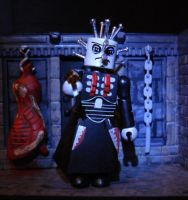 Pinhead (Hellraiser) Custom Minimate by luke314pi