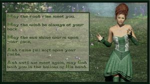 Old Irish Blessing by katlienc