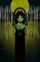 Lady of the Lake by studiomuku