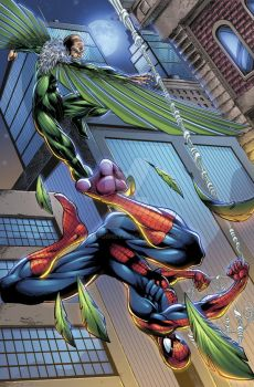 Spiderman vs Vulture Colors by seanforney