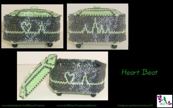 Heart Beat Box Version 4 by JustBelieveCreations