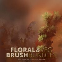 Material And Veg Brushes by Jshinncreative