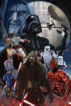 Star Wars the Bad by ChuckMullins