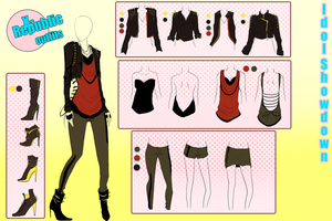 IDOL--S::X-Republic Outfits by 01604