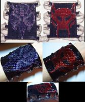 Reversible Beast Wars Cuff by wickedorin