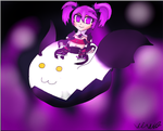 Aisha Void Princess Chibi (Elsword) by BlueCooki