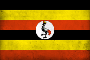 Grunge Flag of Uganda by pnkrckr