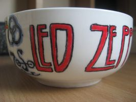 Led Zeppelin bowl by BonaScottina