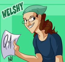 TGWTG Toonize - Welshy by AndrewDickman