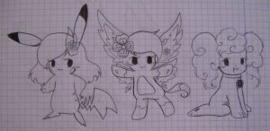 more characters x3 by ChristalLovePkmn