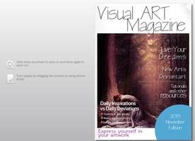 Visual ART Magazine, first edition (november) by RazielMB