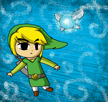 Toon Link by Animerocksthebest